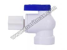 1/4 Su Arıtma Cihazı Tank Vanası : 1/4 Plastik Tank Vanası